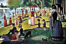 Georges Seurat - Una domenica pomeriggio all'isola della Grande Jatte